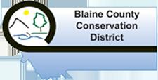 Blaine county CD logo